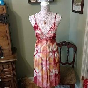 Lucky Brand tie dyed summer dress